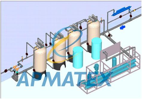 комплект оборудования водоподготовки для блочных котельных